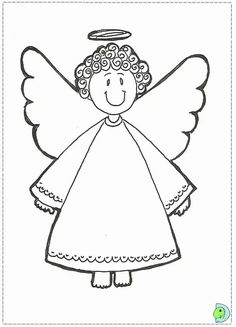 Angel Coloring Pages for Kids. 20 Angel Coloring Pages for Kids. Angel Coloring Page for Teens and Adults Nativity Coloring Pages, Angel Coloring Pages, Easy Coloring Pages, Coloring Sheets For Kids, Adult Coloring, Christmas Present Coloring Pages, Printable Christmas Coloring Pages, Printable Coloring, Christmas Angel Crafts