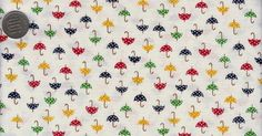 One Yard Japanese Cotton Fabric Country Floral by emicraftinjapan, $9.50