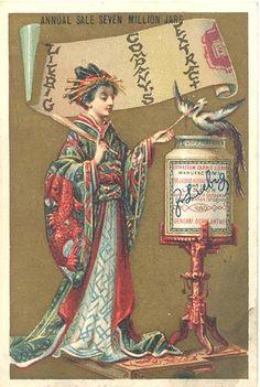Ephemera Society of America, Liebig Company's Extract ad, 1870s by Gatochy, via Flickr