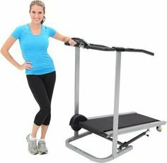 Good  Exerpeutic 260 Manual Treadmill with Pulse