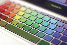 Tastiera colorata per il MacBook Pro