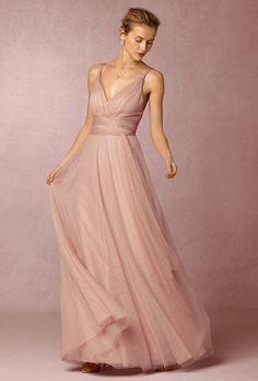 Brides.com: 37 Blush Bridesmaid Dresses