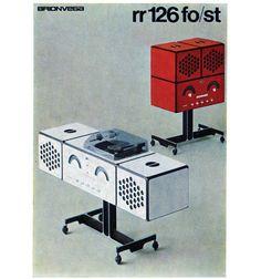 Brionvega RR-126, 1965