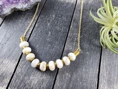 Crazy Lace Agate and Hematite Bib Necklace, Neutral Tone Gemstone Necklace, Agate Statement Necklace, Light Gray and Gold Gemstone Necklace by MayaMadeThis on Etsy Yellow Earrings, Bar Earrings, Shell Earrings, Gold Drop Earrings, Teardrop Earrings, Statement Earrings, Beautiful Gifts For Her, Hematite Necklace, Agate Jewelry