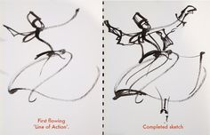You have to see Sketching a whirling dervish by Suhita Shirodkar!