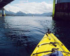 kayaking in alaska, i want to do this so bad.