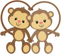 Love Wood Clipart monkey 3 - 286 X 253 Cute Images, Cute Pictures, Jungle Animals, Cute Animals, Monkey Tattoos, Cartoon Monkey, Cute Monkey, Monkey Baby, Clip Art