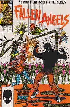 Fallen Angels #5  / Cover Art by Kerry Gammill
