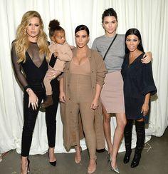 De olho nas Kardashians