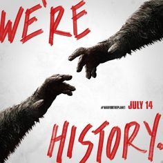 'War for the Planet of the Apes' Home to a Historic New Poster