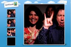 This was where I heard about the software to turn your webcam into a photo booth.  It worked out very well for my daughter's wedding reception.