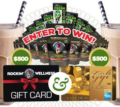 Check out Rockin' Wellness today and enter to win $1750 in prizes! http://www.pinterest.com/pin/308707749431464749/