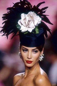 Christy Turlington for Valentino F/W 1991-92