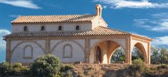 Ermita de San Isidro. San Esteban de Litera (Huesca), La Litera, Aragón, Spain.