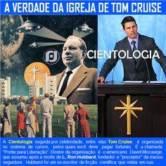 O Blog do JF: A verdade da Igreja Cientologia de Tom Cruise