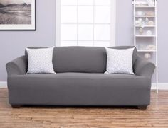 Home Fashion Designs Cambria Collection Polyester Heavyweight Stretch Slipcover   eBay