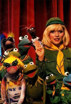 DEBBIE HARRY with the Muppets