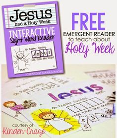 Faith Filled Freebies: FREE Emergent Readers to Teach the Meaning of East...