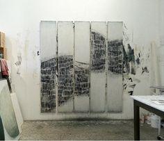 Karine Leger studio staccato strokes