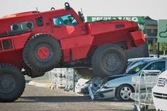 If you though Hummer was the only military-grade vehicle that could kick some ass, you better get acquainted with Marauder. Cool Trucks, Big Trucks, Cool Cars, Buick Riviera, Vw Amarok, Monster Car, Monster Trucks, Bad Drivers, Survival