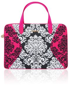 Accessories : 'Francesca' Printed Laptop Bag