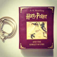 #harrypotterandthegobletoffire #bookbag by #krukrustudio #gobletoffire #bookpurse #harrypotterworld #harrypotterfan #harrypotterart…