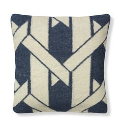 Cane Rug Pillow Cover, Storm Trooper #williamssonoma