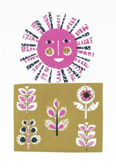 Grow my lovelies limited edition screenprint by Jane Ormes