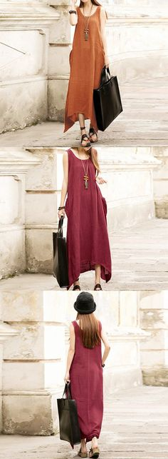 US$17.59+Free shipping. Women Dresses, Long Dresses, Dresses Casual, Dresses for Teens, Summer Dresses, Summer Outfits. Home or out, love this cool summer dress. Style:Casual, Vintage. Color: Gray, Navy.