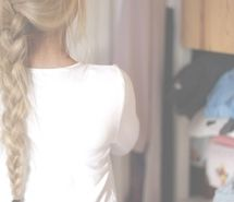 Inspiring picture blond, braid, girl, hair, hairstyle. Resolution: 500x333 px. Find the picture to your taste!