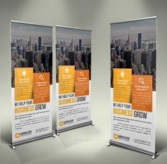 Business Roll Up Banner by GeniusPoint | GraphicRiver