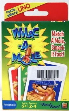 "UNO ""Whac-A-Mole Card Game"" - Yard Sale Price: Part of $25.00 Bundle"