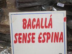 Bacalla s'escriu amb accent obert i no tancar ja que la a sempre és obert.