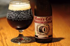 Not all sour beers are light, fruity lambics. Try a Monk's Café Flemish sour ale, a great place to start.