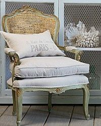French country.. See our new style French caned back chairs on DesignNashville.com Tulane Chair and French Quarter Chair #BedroomChair