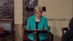 Senator Elizabeth Warren calls for a vote on Judicial Nominees - YouTube