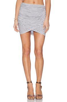 Rachel Pally Rib Brooks Skirt in Prism Stripe | REVOLVE