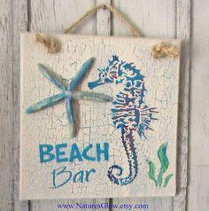 Caballo de mar decoración decoración estrellas de por NaturesGlow