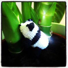 Gehäkelter Panda #häkeln #panda