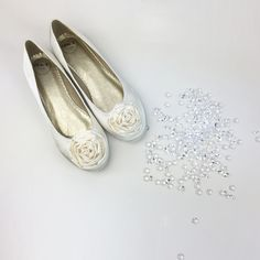 Essex Glam - BRIDAL PUMPS