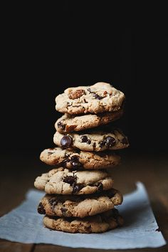 Brown butter chocolate chip cookies.