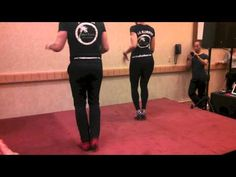 Ataca Y Alemana- advanced bachata footwork and partnerwork workshop, VISF 2013 - YouTube