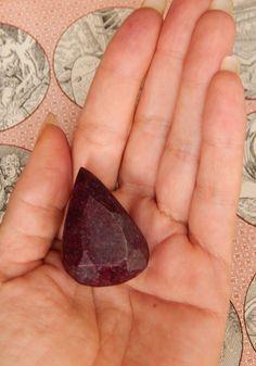 GENUINE RUBY  Genuine Earth-mined Ruby  HUGE 1.6 by esoTERRAca