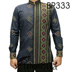Batik Motif Tenun dengan Kode BP333, merupakan batik PRINTING yang terbuat dari bahan katun. African Men, Kebaya, New Trends, Muslim, Safari, Men's Fashion, Cute Outfits, Dressing, Shirts