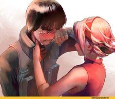 Rock lee and Sakura (Naruto)