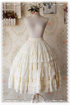 #Lolitaupdate: Infanta Gorgeous Chiffon Lolita Long Petticoat, 7 colors available