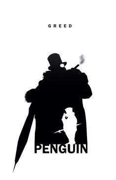 Penguin - Greed Silhouette by Steve Garcia Comic Book Characters, Comic Character, Comic Books Art, Comic Art, Superhero Silhouette, Penguin Gotham, Star Trek, Hq Dc, Graphic Novels