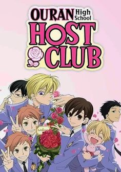 Ouran High School Host Club (2006) New student Haruhi stumbles on the Ouran High School Host Club, an all-male group that makes money by entertaining the girls of the school. After breaking a precious vase, Haruhi passes herself off as a boy to become a host and repay her debt.