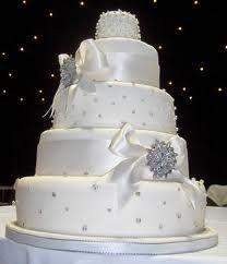 Diamonds are Forever – Wedding Cakes Big Wedding Cakes, Wedding Cake Decorations, Elegant Wedding Cakes, Beautiful Wedding Cakes, Wedding Cake Designs, Beautiful Cakes, Wedding Ideas, Elegant Cakes, Bling Wedding