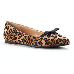 Lauren Conrad leopard flats